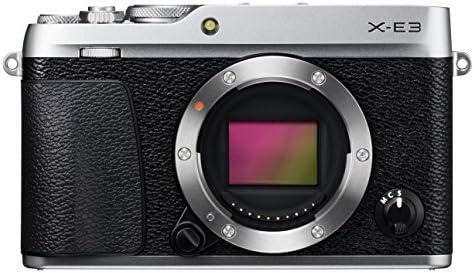 Fujifilm X-E3 - Cuerpo de cámara EVIL de 24.3 MP, color plata + ...