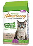 sWheat Scoop Multi-Cat All-Natural Clumping Cat Litter, 14lb Bag