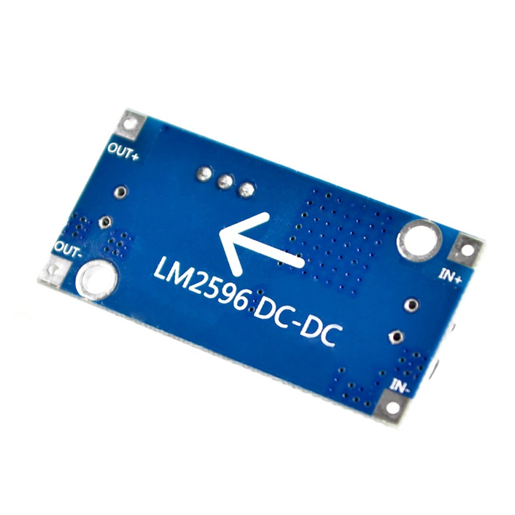Loopunk LM2596 DC-DC m/ódulo de Fuente de alimentaci/ón 3 A regulador de Voltaje Ajustable 24 V Interruptor 12 V 5 V 3 V