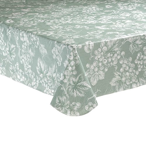 (Walter Drake Sage Green Grapevine Vinyl Tablecloth (60x84 Oblong))