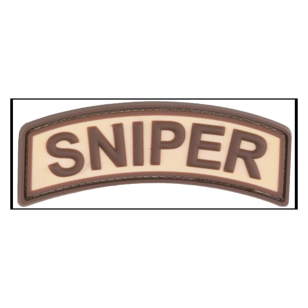 3d di patch Sniper Tab Desert Jackets To Go