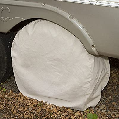 ABN Canvas Wheel Covers - 29 Inches, Set of 4, Best for RV, Car, Camper, Trailer, Truck, SUV: Automotive