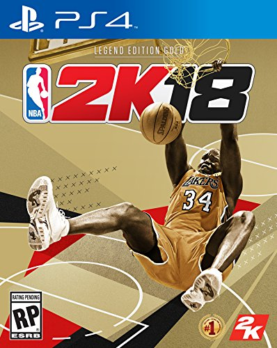 NBA 2K18 Legend Edition Gold - PS4