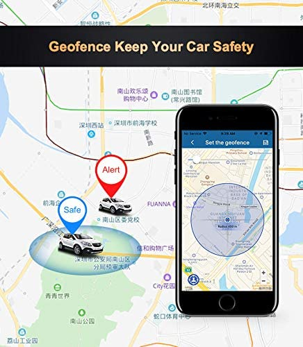 Reiwour OBD 4G GPS Tracker for Vehicles Real Time OBD2 GPS Tracker Locator for car Tracking Device Without Subscription