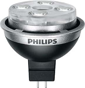 Philips 420190 10-Watt (35-Watt) MR16 LED 3000K (Bright White) Wide Flood Light Bulb, Dimmable