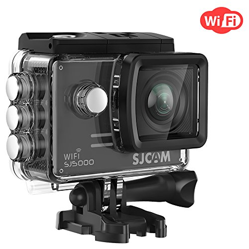 SJCAM SJ5000 WIFI Action Camera 14MP 1080p Ultra HD Waterproof Underwater Camera Large Screen Wide Angle Sports DV Camcorder for Diving Swimming Surfing Biking - - Cycling Events And Swimming