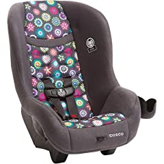 The Cosco Scenera Car Seat is simply a smarter chair - designed for families who know what they need. It keeps kids safer with Side Impact Protection built into the headrest and a five-point harness that adjusts easily from the front of the s...