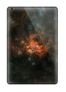 Rugged Skin Case Cover For Ipad Mini/mini 2- Eco-friendly Packaging(nebula)