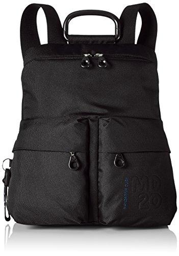 Mandarina Duck Md20 Tracolla - Shoppers y bolsos de hombro Mujer Negro (Black)