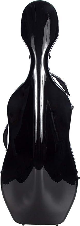 Estuche para Violonchelo fibra de vidrio 4/4 Ultra Light black M-Case: Amazon.es: Instrumentos musicales