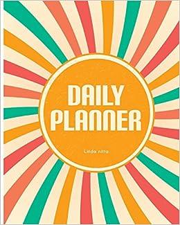 amazon daily planner notebook journal volume 2 daily schedule