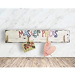 Back To School Display Kids Artwork Masterpieces Pallet Sign F11