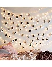 EZDC Photo Clip String Lights