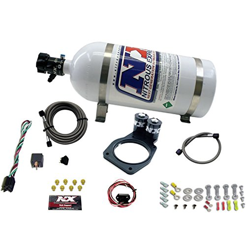 Nitrous Express 20931-10 2010 35-150 HP Plate System with 10 lbs. Bottle for Camaro ()