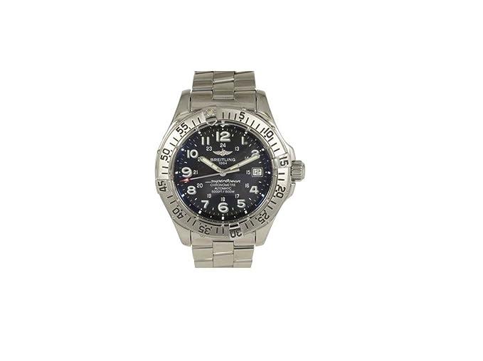 Breitling Superocean automatic-self-wind Mens Reloj a17360 (Certificado) de segunda mano: Breitling: Amazon.es: Relojes