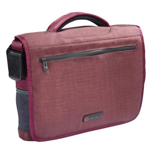ECBC Poseidon Messenger Bag for 13-Inch Laptop, Berry