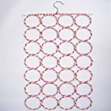 Topicker 28 Circles Scarf Holder Color Varies