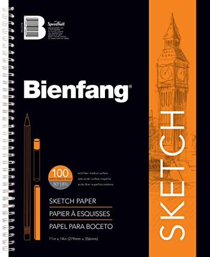 11 Inch 100 Sheets (Bienfang 11 by 14-Inch Sketchbook, 100 Sheets)