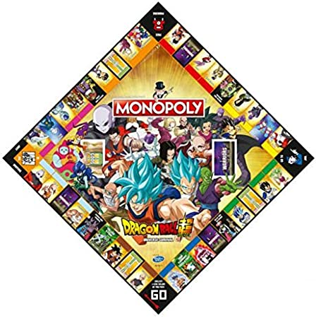 Winning Moves Dragon Ball Z Super Edition Monopoly - Italy Merchandising: Amazon.es: Juguetes y juegos