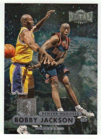 Bobby Jackson RC (Basketball Card) 1997-98 Skybox Metal Universe Championship # 8