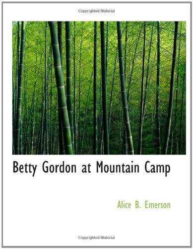 Download Betty Gordon at Mountain Camp pdf