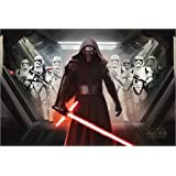 Poster Star Wars Episode VII - Kylo Ren & Stormtroopers - affiche à prix abordable, poster XXL