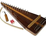Zither Heaven Artisan Black Walnut 22 String Bowed Psaltery w/ Black Walnut top