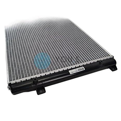 Col Rizada Enfriador de Agua Refrigeración Del Motor Netzmaße: 645X 410X 28Mm - 1K0121251AA: Amazon.es: Coche y moto