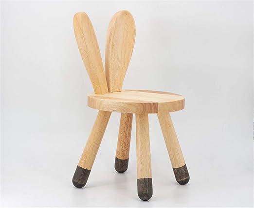 HaoLu Fashion Creative Wood Stool Home Cute Children Stool