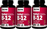 Jarrow Formulas Methyl B12, Methylcobalamin (60 x 3)