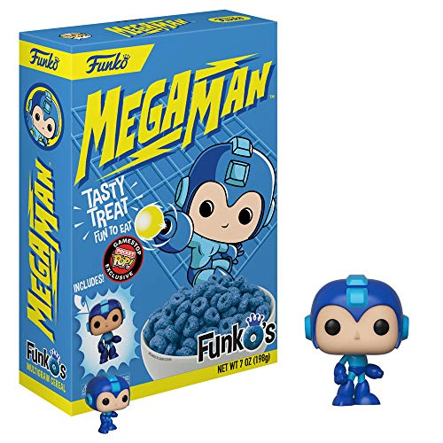 Funko Pop Cereal MULTIGRANO Y Pocket Megaman Exclusivo
