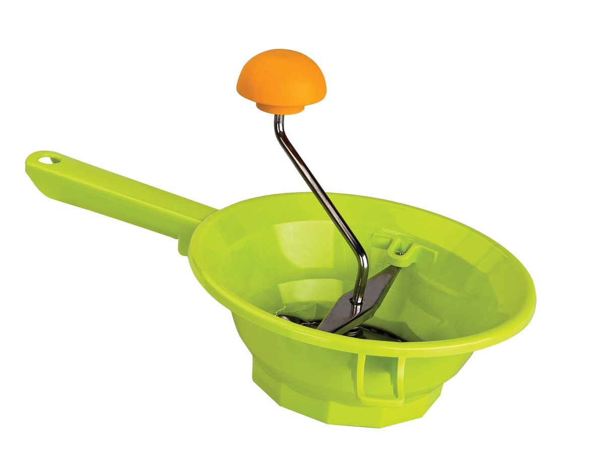 Ibili Food Mill, Green/Orange/Silver, 20 cm 709320