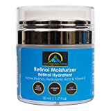 Retinol Cream, Best Face Moisturizer & Skin Hydrator, Anti Aging, Anti Wrinkle Moisturizing Face Lotion, Helps With Dry or Sensitive Skin, Tinted Eye Cream (1.7 fl.oz/50 ml)