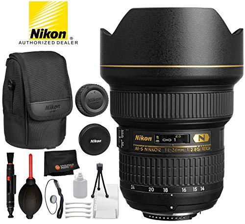 Nikon AF-S NIKKOR 14-24mm f/2.8G ED Lens with Professional Bundle Package Deal Kit for D3400, D3500, D5300, D5600, D7200, D7500, D750, D610, D500, D810, D850 by Nikon (Image #5)