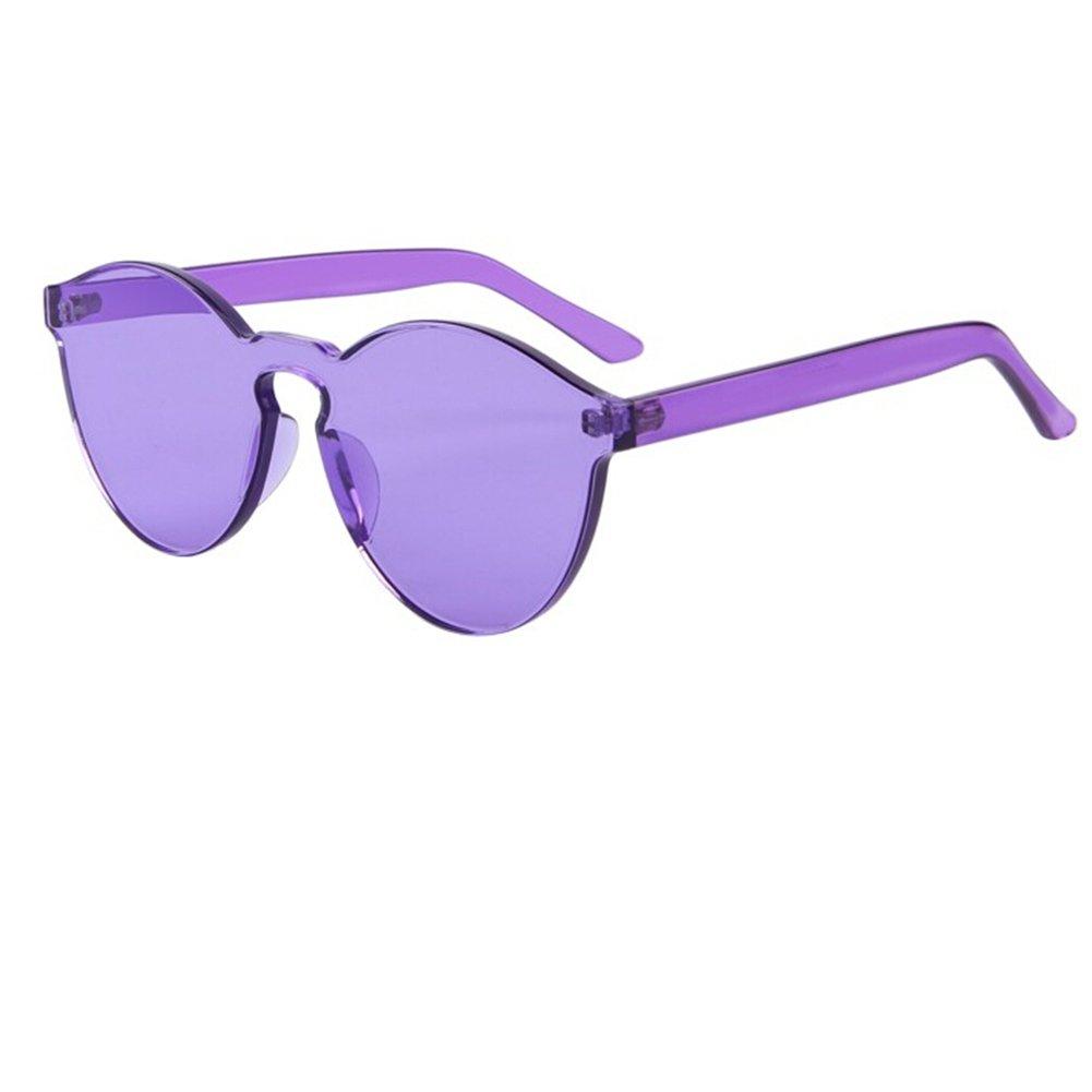 Wonderfulhony lunettes de soleil de thérapie de couleur pour l'homme et les femmes M9OwqQcRTA