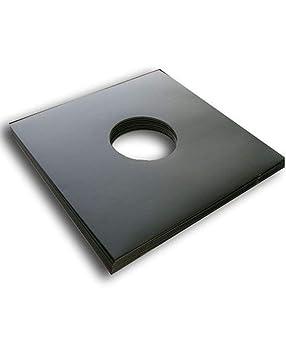 25 Carpetas GENERICAS DE Carton Negro para Discos DE Vinilo LP - Marca Cuidatumusica - / Ref.3079