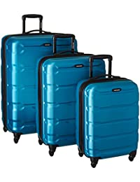 68311-2479 Omni PC Hardside Spinner 20 24 28, Caribbean Blue, 3 Piece Set