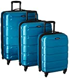 Samsonite Omni PC 3 Piece Set Spinner 20 24 28, Caribbean Blue, One