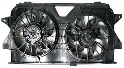 OE Replacement Dodge Caravan Radiator Cooling Fan Assembly (Partslink Number (Caravan Radiator Fan Assembly)