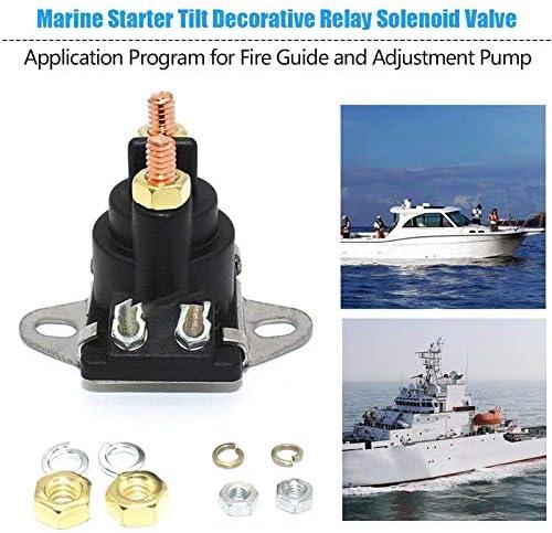 BianchiPatricia Marine Starter Tilt Trim Relay Solenoid MerCruiser 89-96158T 12V New 3.7L
