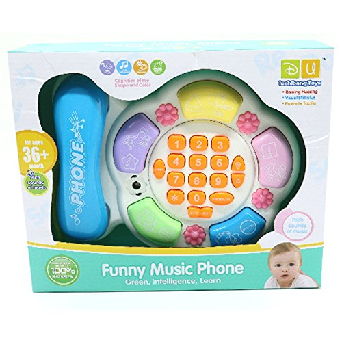 I LOVE this toy phone she added to her busy board!