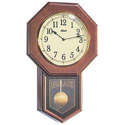 Hermle Schoolhouse Regulator Wall Clock