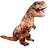 Adult Inflatable T-Rex Dinosaur Costume for Halloween, Party, Cosplay WT-REXIC