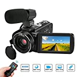 Best Camcorder For Huntings - Video Camera Camcorder,Aitechny Full HD 1080P 24MP 3.0 Review