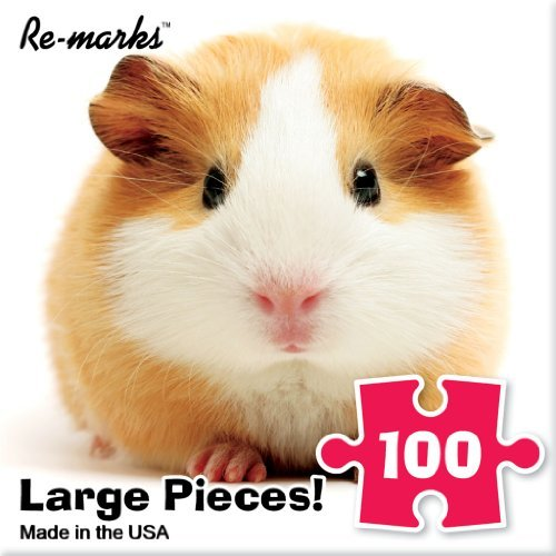 Pig Piece 10 (Jigsaw Puzzle 100 Pieces 10 inches x 10 inches Guinea Pig by Re-Marks)