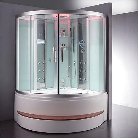EAGO Vapor ducha da324hf3 – 1 Color blanco 150 x 150: Amazon.es: Hogar