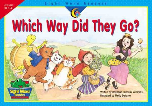 Which Way Did They Go? (Sight Word Readers, Gr. 1-2)