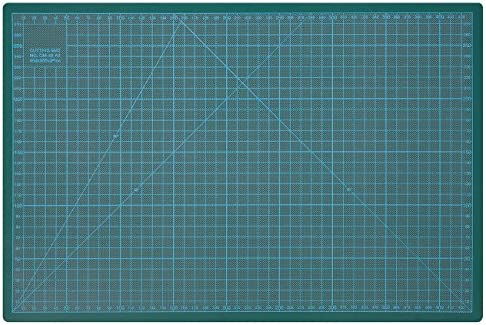 30 cm Verde Tappetino da Taglio 300 x 220 x 3 mm Wedo 079130 Cutting Mat
