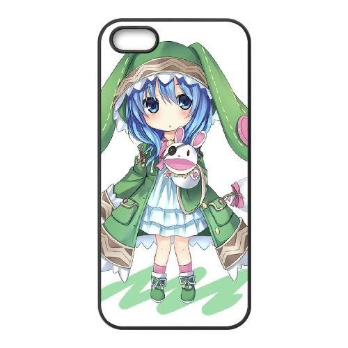 P5S65 Date A Live Yoshino M6R4CD coque iPhone 5 5s cellulaire cas de téléphone couvercle coque noire KN5LPU6NC