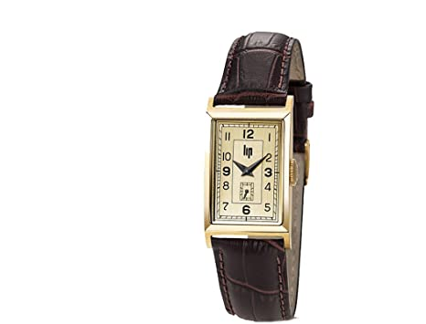 Femme Bracelet H671m006 Marron Lip Montre Cuir Churchill 6gIbyYfv7